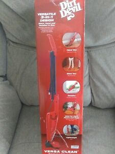 New in box Dirt Devil SD20010 Versa Clean Bagless Stick Vacuum Cleaner