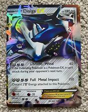 Dialga EX / Holo / Full Art. Ultra Rare. Pokémon Trading Card