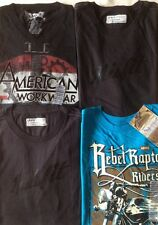 Lot of 4 Levi's T-shirt. Men. M.Short sleeve.100% Cotton.NWT.4x$20