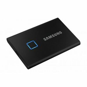 Disque SSD Externe Samsung Portable T7 Touch 1 To Noir MU-PC1T0K NEUF