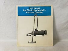 VINTAGE ELECTROLUX MODEL L CANISTER VACUUM CLEANER OWNERS MANUAL 1971 X