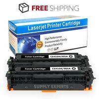 2PK For HP CE410X 305X HY LaserJet Pro 400 Color M451 MFP M475 Toner Cartridge