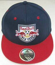 MLS New York Red Bulls Multi-Color Structured Flat Bill Fitted Hat By adidas S/M