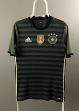 Adidas Germany Euro 2016 Away Jersey Dark Grey Size M Football Soccer