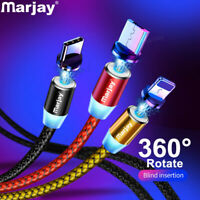 Magnetic Micro USB Cable For iPhone Samsung Android Fast Charging Magnet Charger