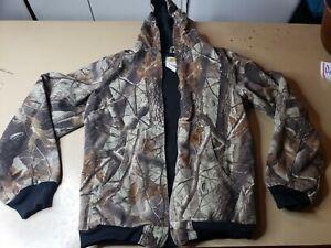 Carhartt Youth Camo Jacket YYJ144 CMO Sz XL (14-16) Hunting Outdoor FLAWED