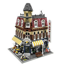 LEGO CAFE CORNER 10182 Set Modular Buildings City Town 3 minifig store