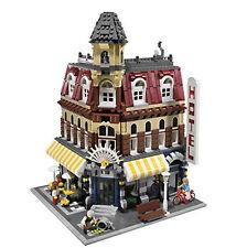 LEGO CAFE CORNER 10182 Set Modular Buildings City Town 3 minifig store genuine