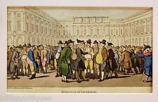 ENGRAVING DR.SYNTAX  ROWLANDSON  DR.SYNTAX  AT LIVERPOOL ACKERMANS 1813