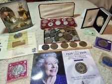 More details for collectable set of palestine 1942 silver 100 mils to one mil rare 1940 coin