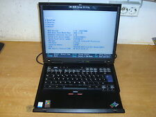 IBM ThinkPad R50e Notebook,  Intel Celeron 1,30GHz, 1,2 Gb RAM  #k