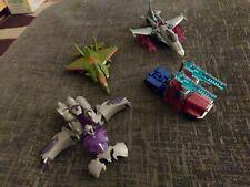 Transformers Prime Cyberverse Lot Megatron Optimus Skyquake Starscream
