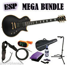 ESP LTD EC-1000 VB Vintage Black Deluxe Series EMG NEW FREE MEGA BUNDLE 2