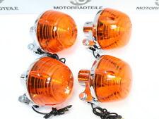 Honda ST 50, XL 50, CY 50 80 Blinker Set 4 x Blinklicht US Repro Chrom winker