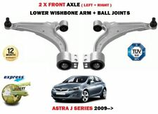 FOR OPEL VAUXHALL ASTRA J 2009> 2X FRONT WISHBONE SUSPENSION ARMS + BALL JOINTS