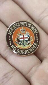 Apprentice Boys Of Derry Ulster Unionist Loyalist Metal Enamel Pin Badge 25mm