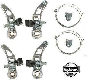BRAKES Cantilever Brake Caliper Set Front & Rear & Straddle Cables Bike Bicycle