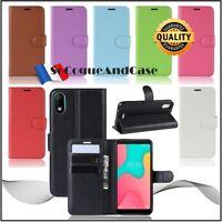 Coque Etui Housse Litchi Style Cuir PU Leather Wallet Case Wiko Y60, Y70, Y80
