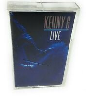 Kenny G Live Cassette Tape
