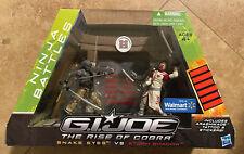 New ListingGi Joe Rise Of Cobra Snake Eyes Vs Storm Shadow Walmart Exclusive