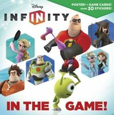 NEW Paperback Book Disney Infinity in the Game + Poster, Game Cards 30+ Stickers