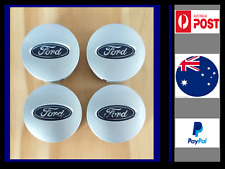 FORD Centre Caps AU BF FG FG EF EL Set FALCON TERRITORY BRAND NEW WHEEL CAPS
