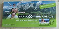Infobroschüre Schladming-Dachstein Sommercard Die schönsten Ausflugsziele