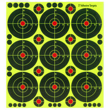"50 pcs  3"" X 9 Self adhesive Splatter & Reactive Shooting targets"