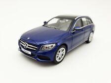 1:43 Norev Mercedes Benz C-Class Estate Blau Modellauto Ohne OVP Scale Car