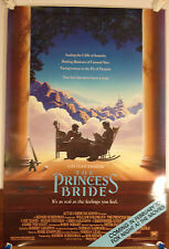 The Princess Bride promo Poster /1987 Fox TV Movie Night  27 X 39 3/4 Rare