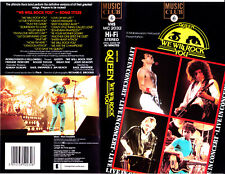 "VHS - "" QUEEN - We Will Rock You - Live in Concert """