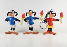 Goofy Sport-Goofy === 3 x Walt Disney Fackelläufer Bully / Bullyland