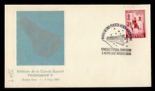 1962 ARGENTINA SPACE TRACKING STA FRIENDSHIP 7 CACHET