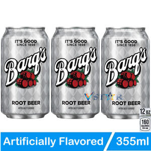 Barq's Root Beer 355 ml (Pack of 03) USA