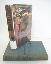 THE SECRET OF RED GATE FARM by Carolyn Keene, Nancy Drew Mystery # 6 in DJ, 1951