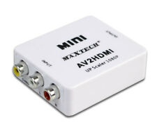 Adattatore RCA a HDMI convertitore segnale video analogico a digitale 1080p