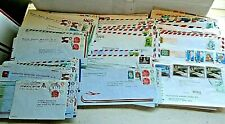 Super Lot Of 219 South America Commercial Covers With Over 600 Stamps 1970's-80s