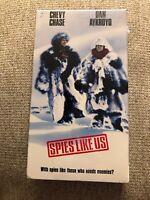 SPIES LIKE US 1985 VHS,Dan Aykroyd, Chevy ChaseBRAND NEW SEALED Warner Bros