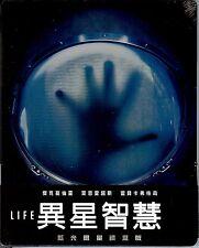 LIFE Limited Edition SteelBook w/1/4 SlipCover (Region A, B & C Taiwan Import)