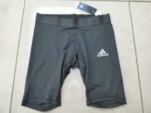 BNWT Adidas Alphaskin compression black base layer shorts bottoms.Size Large