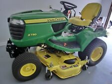John Deere X730 Signature Series Tractor With Only 36.5 Hours