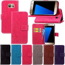 Handy Hülle Für Samsung Galaxy Apple iPhone Flip Wallet Cover Case Schutzhülle