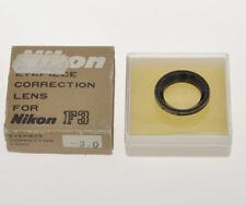 Nikon Eyepiece Corretion lens -3.0D for Nikon F3 (not HP) exc++