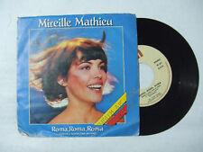 Mireille Mathieu – Roma, Roma, Roma (Gialla E Rossa Come Un Fiore) - 45 Giri