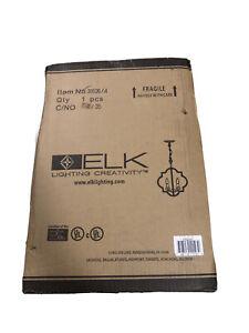 Elk Lighting 31826/4 Chandette - Four Light Chandelier Matte Gold Finish Nice