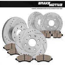 Front+Rear Brake Disc Rotors + Ceramic Pads 1989 1990 1991 1992 1993 Mazda Miata
