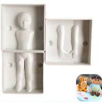 3D Child Body Shape Sugarcraft Fondant Cake DIY Cutter Decorating Mould Mold