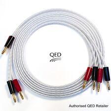 QED XT25 Performance Câble haut-parleur 2 x 2 m gold Banana Plugs Fin Paire
