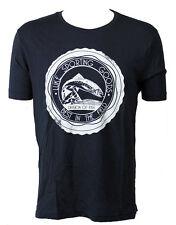 Luke 1977 'SG Print' Men's T-Shirt Dark Navy (LKTS003)