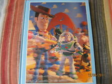 TOY STORY THE ART AND MAKING OF THE ANIMATED FILM 3D COVER ILLUSTRATED